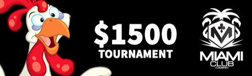 $1500 Chicken Pot Pie Slot Tournament at Miami Club Casino